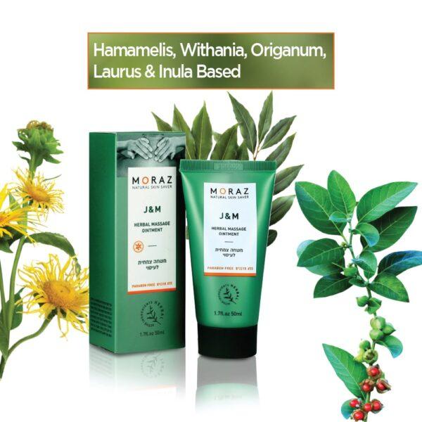 J & M Herbal Massage Ointment