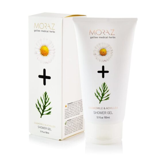 Moraz Chamomile and Achillea Shower Gel Box