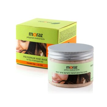 Moraz HAIR MASK - Polygonum Hair Mask for Dry & Damaged Hair Box