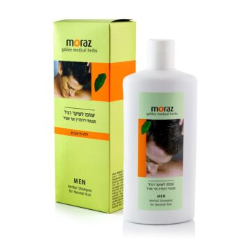 Moraz MEN - Herbal Shampoo for Normal Hair Box