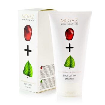 Moraz Pomegranate and Polygonum Body Lotion Box