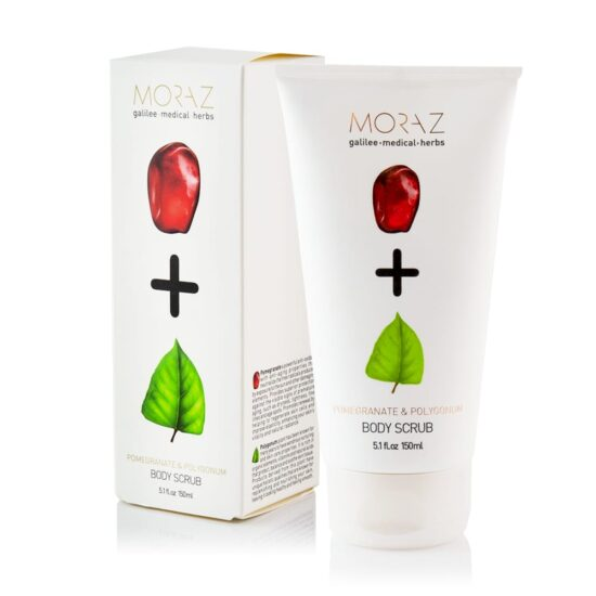 Moraz Pomegranate and Polygonum Body Scrub Box