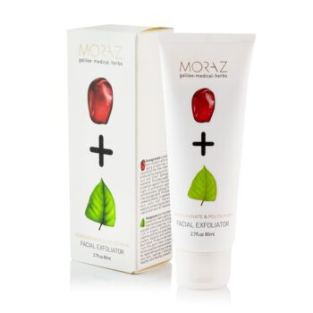 Moraz Pomegranate and Polygonum Facial Exfoliator Box