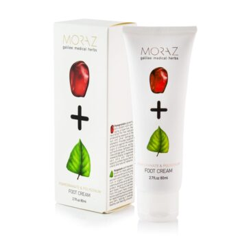 Moraz Pomegranate and Polygonum Foot Cream Box