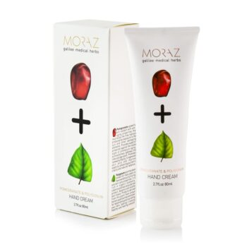 Moraz Pomegranate and Polygonum Hand Cream Box
