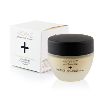 Moraz Pomegranate and Polygonum Night Cream for Dry to Combination Skin Box