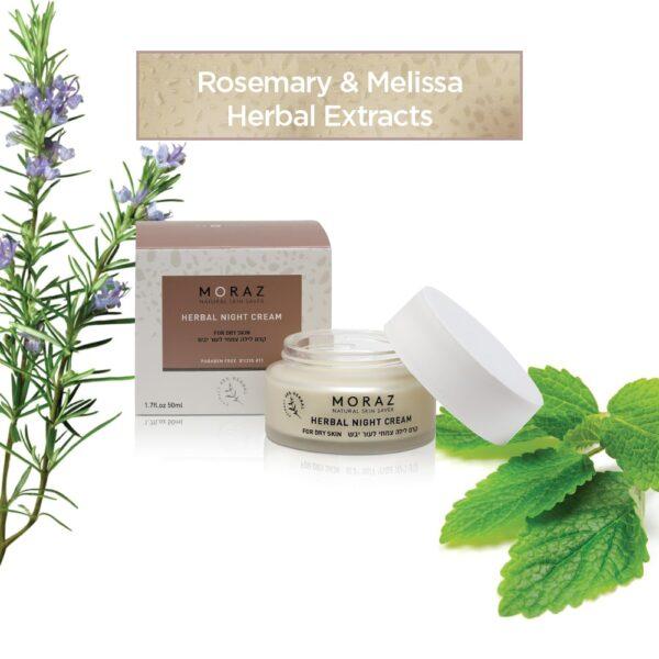 Herbal Night Cream for Dry Skin 1